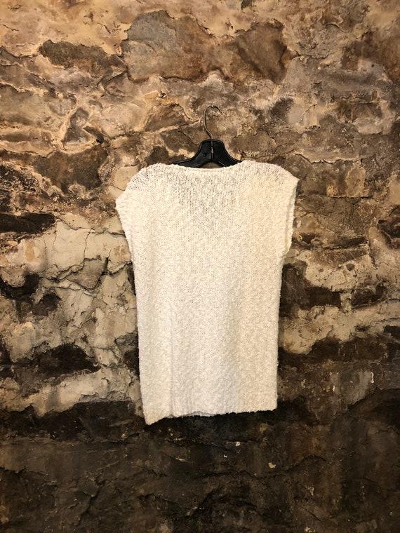 ON SALE Vintage Dark RedFloral Long Slouchy vest