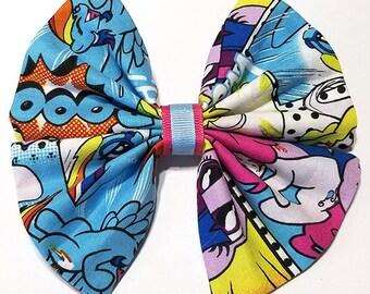 Cosplay Hair Bow Accessory - Barrette - Geek Chic Hair Clip Bow - Pony Hair Bow