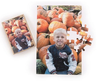 Personalized Photo Jigsaw Puzzle, 48 Pieces 11 x 17