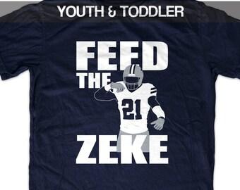 f58066cbf Ezekiel Elliott 'Feed the Zeke' T shirt (Youth)