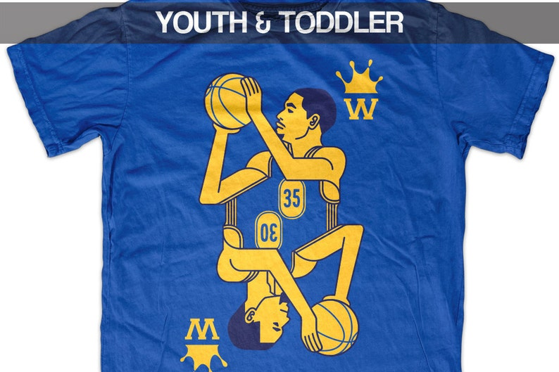 brand new 8a17a ef363 Kevin Durant & Steph Curry - Splash Brothers - T shirt - Youth