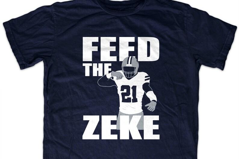 e1e543eb11a Ezekiel Elliott  Feed the Zeke  T shirt