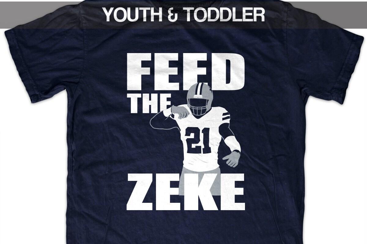 best service f6387 9f5c4 Ezekiel Elliott 'Feed the Zeke' T shirt (Youth)