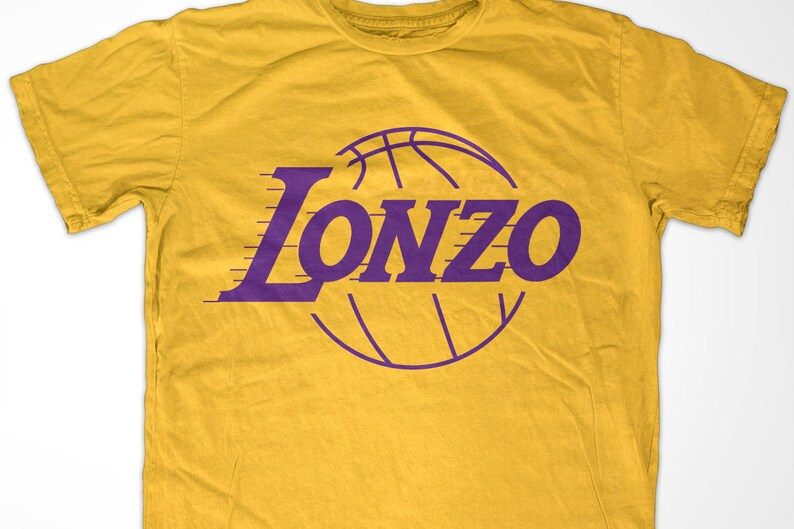 official photos f5821 64736 Lonzo Los Angeles Basketball t-shirt - Gold