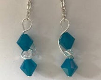 Swarovski Crystal Earrings, Bling Forward Collection