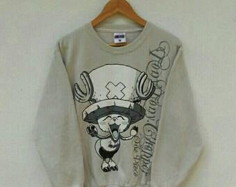 Vintage ONE PIECE TONY Shirt Tony Chopper Japan Manga Anime Akira Sweatshirt Size M