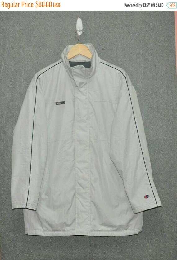 CLEARANCE SALE Vintage 80's CHAMPION Usa Spellout Swag Sweatshirt  Skateboard Crewneck Hip Hop Jumper Winter Wear Jacket Size M