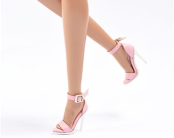 15d538863e 8 COLORS KOREA Doll Shoes Leather Doll Sandals For Barbie Fashion Royalty  FR2 Doll Shoes Doll Outfit Handmade Doll Doll Accessories
