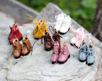 d11de374d0 Doll Shoes Martin Boots for OB11 Blythe Doll Azone Jerryberry Licca Y  Momoko Lati Fashion Royalty Custom Doll Shoes Doll Boots Outfit
