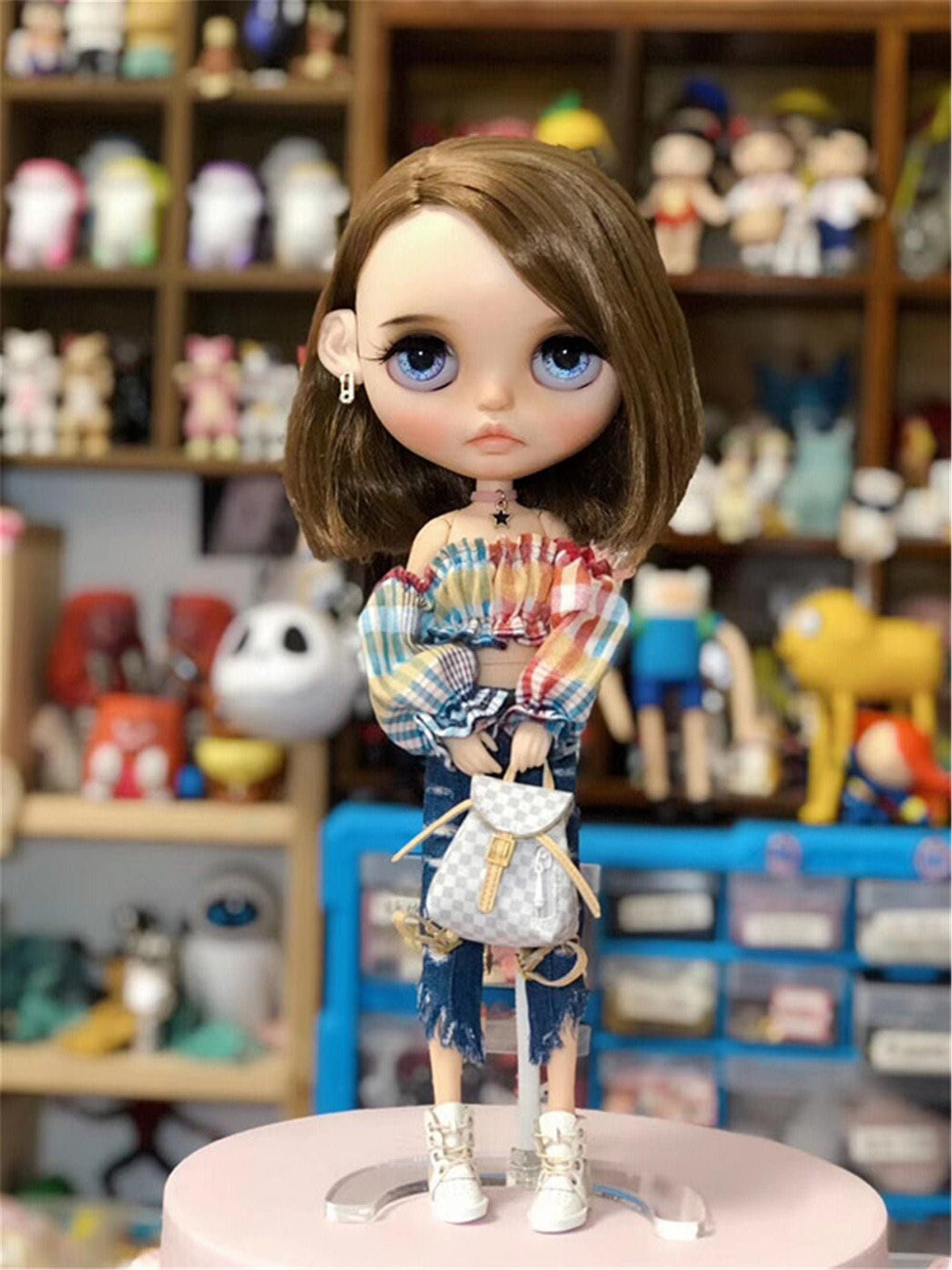 Doll Bag Doll Handbag for 1//6 Blythe Azone Holala Fashion Royalty BJD Doll Bag