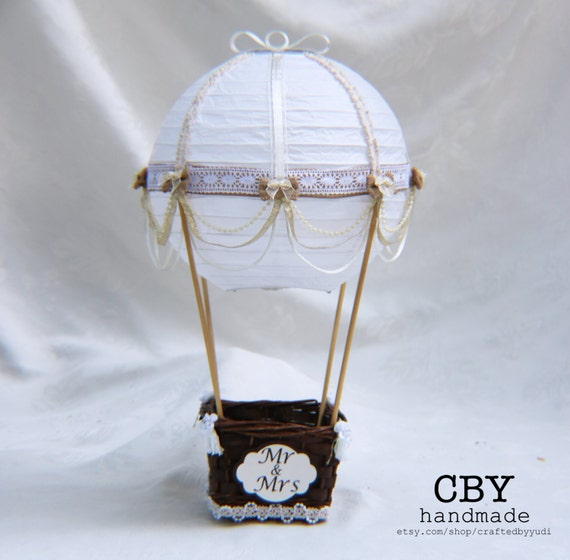 Hot Air Balloon Wedding Table Number Centerpiece Hot Air Etsy