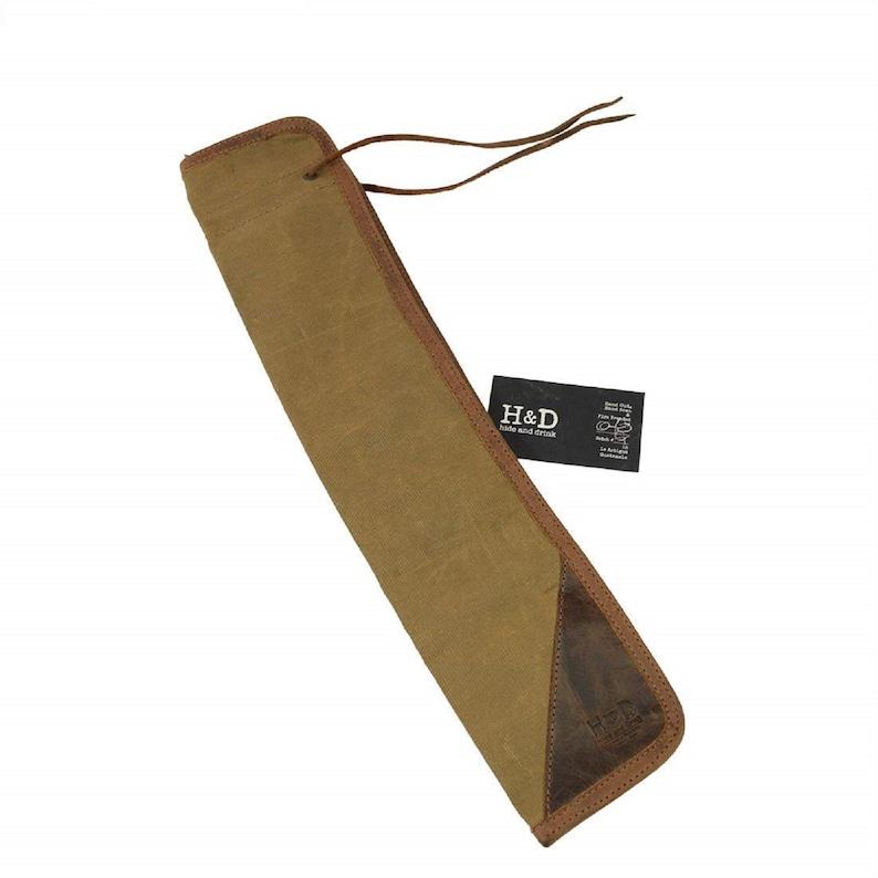Waxed Canvas Drumstick BagDrummer Stick Bag HolderMusician/'s Essentials Handmade Fatigue