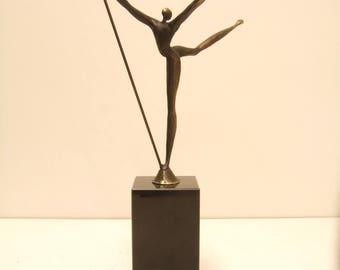 Statue bronze height 29 cm