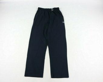 595df6ba 90s Champion Classic Logo Sweatpants Pants Navy Blue Mens Medium Cotton, Vintage  Champion Joggers, 90s Champion Pants, 1990s Mens Pants