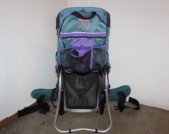 3bb2937f1fb 90s Kelty Kids External Frame Backpacking Hiking Carrier Bag Pack