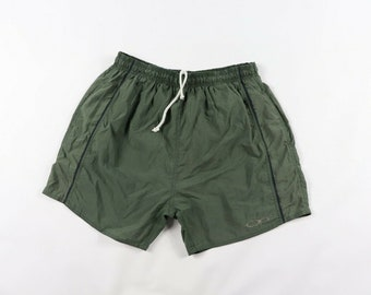 d28614a0fb 90s Ocean Pacific OP Spell Out Swimming Swim Trunks Shorts Green Mens  Small, Vintage OP Shorts, 1990s Ocean Pacific Shorts, Mens Shorts