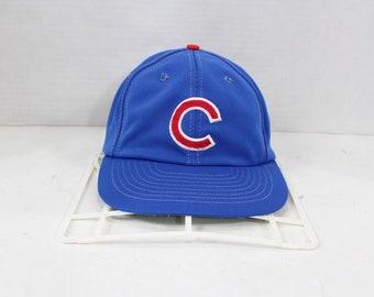 1b11b5d63 80s Sports Specialties Chicago Cubs MLB Baseball Snapback Hat Cap Blue,  Vintage Chicago Cubs Hat, Sports Specialties Hat, 1980s Mens Hat