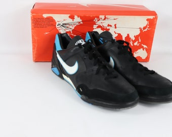 050175facd8a 80s New Nike San Siro Indoor Soccer Shoes Trainers Mens 12.5 Black , 80s  Nike, 80s Nike Shoes, 80s Soccer Shoes, 80s Soccer, 80s Clothing