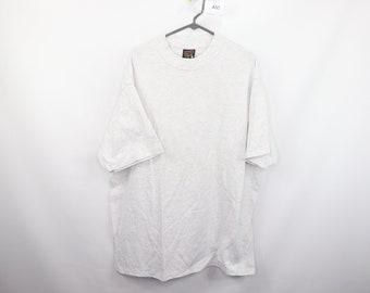 b9a3c655f 90s Soffe High Neck Short Sleeve Blank T-Shirt Heather Gray Cotton Mens XL,  90s Soffe T Shirt, 90s Blank High Neck T Shirt, 90s Clothing,