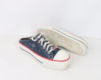 9748950ccd 90s Skechers 4th of July USA Lace Up Platforms Mules Shoes Blue Womens 9, 90s  Skechers Womens Shoes, 90s Platform Shoes, 90s Skechers,