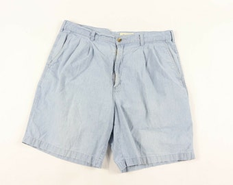 b5abce725d 90s Eddie Bauer Spell Out Chambray Chino Shorts Mens Size 38 Blue, Vintage  Eddie Bauer Shorts, Mens Shorts, Chambray Shorts, Chino Shorts