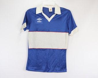 f78419d1b3a 80s New Umbro International Mens Small England World Cup Soccer Jersey