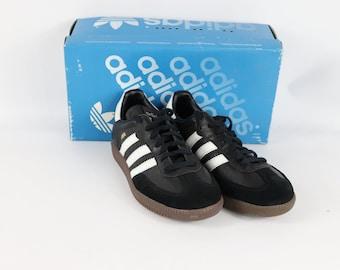 best service 15784 ca838 90s New Adidas Samba K Indoor Soccer Shoes Black Mens 6.5, 90s Adidas, Adidas  Soccer, Adidas Samba, 90s Soccer, World Cup, 90s Shoes