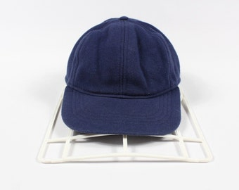 21e36e70e25 90s Eddie Bauer Outdoor Spell Out Casual Dad Hat Cap Navy Blue Mens L XL