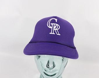 6124008a8 90s rockies hat | Etsy