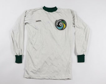 ab89f8f1a3f 80s Trophae New York Cosmos Pele NASL North American Soccer League Jersey  Youth Small White Green