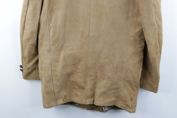 70s Rockabilly Lined DuPont Quilon Suede Leather … - image 10