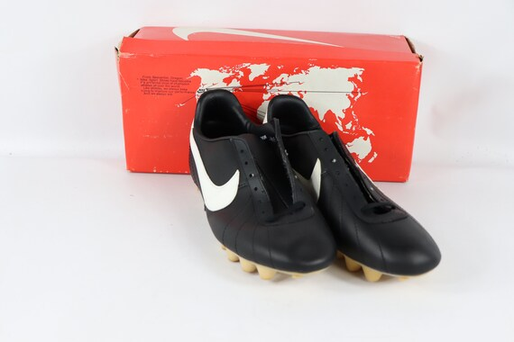 80s New Nike Europa Leather Soccer Shoes Cleats Bo
