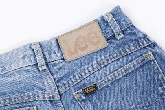70s Lee MR Distressed Straight Leg Jeans USA Talo… - image 4