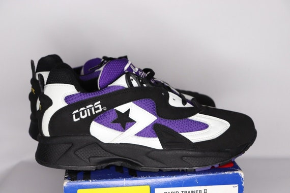 90s New Converse Cons React Rapid Trainer II Athl… - image 6