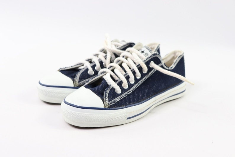 bd4d1489eddd6a 90s New Converse Chuck Taylor All Star Low Inside Out Denim