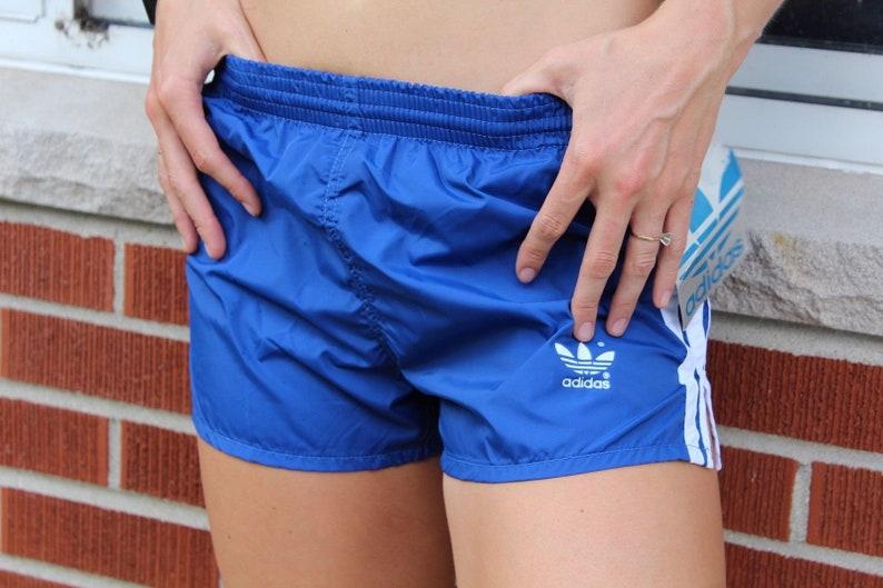 80s adidas shorts