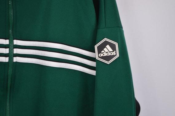 Veste vintage adidas vert