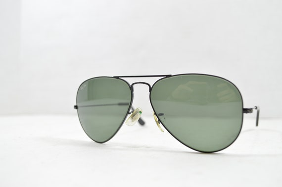 80s Vintage Ray Ban Bausch Lomb Unisex Small Frame