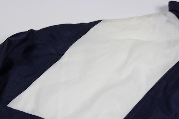 90er Jahre neu Adidas Fußball Legion buchstabieren gefüttert Warm bis 2 Stück Jacke Hose Mens klein Navy blau weiß, 80er Adidas Hose, Adidas Herren