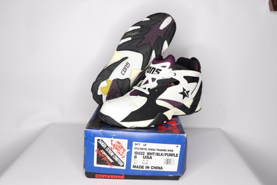 90s New Converse Cons React 24/7 Lo Cross Trainer… - image 3