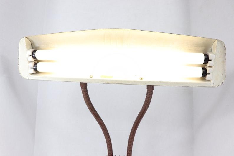 Vintage Lamp Antique Modern Industrial Art Deco Dazor Metal Adjustable Desk Table Lamp Light Modern Industrial Lamp,