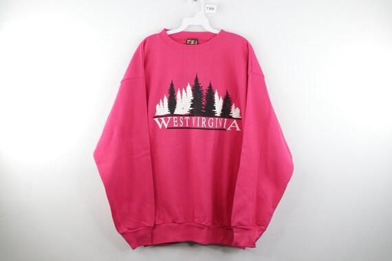 NOS 80s Streetwear Mens Large West Virginia Spell