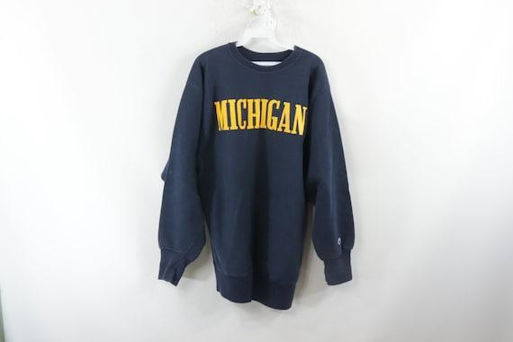 80s Champion University of Michigan Reverse Weave