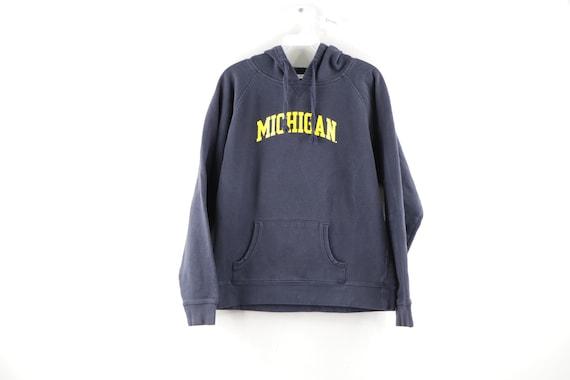 90s Champion University of Michigan Hoodie Sweatsh