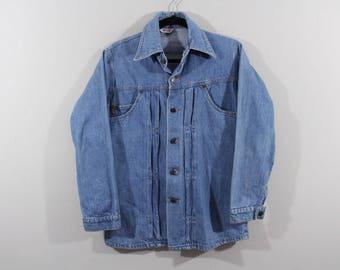 70s Levis Orange Tab Full Button Denim Jean Jacket Mens Size Small, Vintage Levis Jean Jacket, Vintage Denim Jacket, Jean Jacket, Orange Tab
