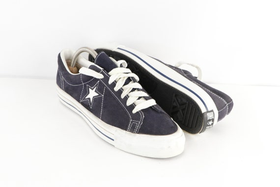 70s NOS Converse One Star Suede Ox Low Top Sneake… - image 1