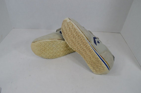 80s CONVERSE New Mens Size 7.5 Adjustable Strap S… - image 4