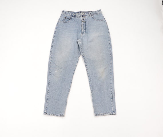 90s Marithe Francois Girbaud Stonewashed Tapered L