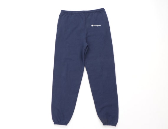 90s Champion Spell Out Blank Joggers Jogger Sweatp