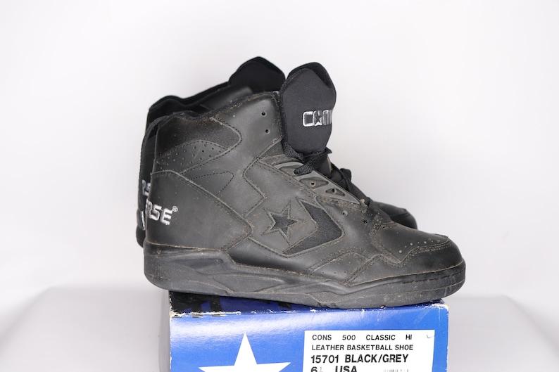VTG 90S NEW Converse Mens 9 Cons 500 Classic Hi Leather